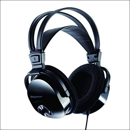 Pioneer SE-M531 - Cuffia Tv ottimizzata per Ascolto Musica e Home Cinema, Nero/ Antracite