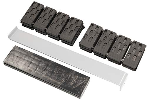 KOTARBAU® - Set di accessori per il montaggio robusto, 42 elementi, distanziatori, tirante, per laminato, parquet, pavimenti in legno