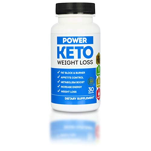 POWER KETO Day | Gewichts-Reduktion, Fett Blocker | Unterstützt Fettverbrennung | Verleiht Energieschub | hochdosiert | 30 Kapseln