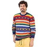 El Ganso Jersey Rayas Multicolor Étnico