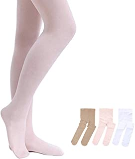 STELLE Girls' Ultra Soft Pro Dance Tight/Ballet Footed...