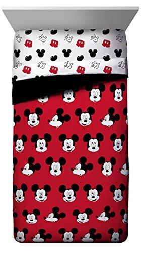 Jay Franco Disney Princess Sassy Full Comforter - Super Soft Kids Reversible Bedding Features Cinderella und Rapunzel - Fade Resistant Polyester Microfiber Fill (Official Disney Product)