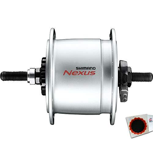 Shimano Nabendynamo Nexus DH-C6000-3R 3W Rollenbremse 36L. Standard Silber