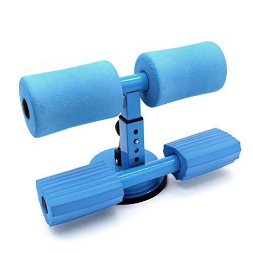 腹筋マシン?吸盤?脚固定?鍛える?高さ調整可能?シットアップトレーニング?アブクラッシャー?腹筋マシーン?腹筋器具?トレーニング?安い?室内運動?ポータブル?シットアップ?フィットネス?機器 (青い)