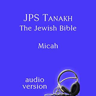The Book of Micah: The JPS Audio Version audiobook cover art