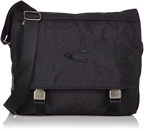 camel active, Messenger Bag, Herren, Umhängetasche, Arbeitstasche, Business Tasche, Schultertasche, Journey, Schwarz