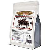 Chocolate Negro Puro 100% - Origen Venezuela - Bolsa 250g - (Puro, natural y en trocitos) - Cacao Venezuela Delta