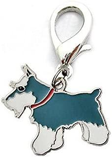 RONSHIN Househeld Kitchen Home Daily Metal Dog Key Chain Lovely Puppy Pendant Keyring Keychain Woman Bag Charm Gift Schnauzer 2.5cm
