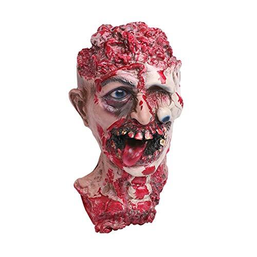 song rong Maske Zombie Halloween Horror Latex Vampir Angst Geist-Kopf-Schablonen Cosplay Partei-Schablone 1PC