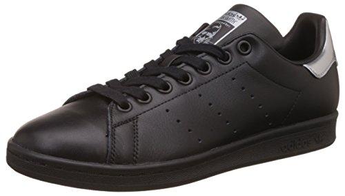 adidas adidas Damen Stan Smith W Sneaker, Schwarz (Core Black/core Black/Supplier Colour), 36 EU
