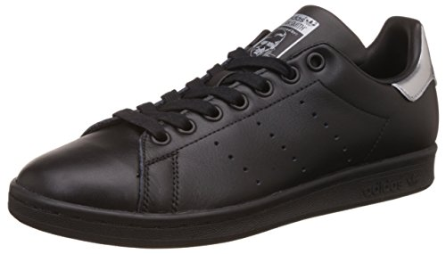 adidas Damen Stan Smith W Sneaker, Schwarz (Core Black/core Black/Supplier Colour), 36 2/3 EU