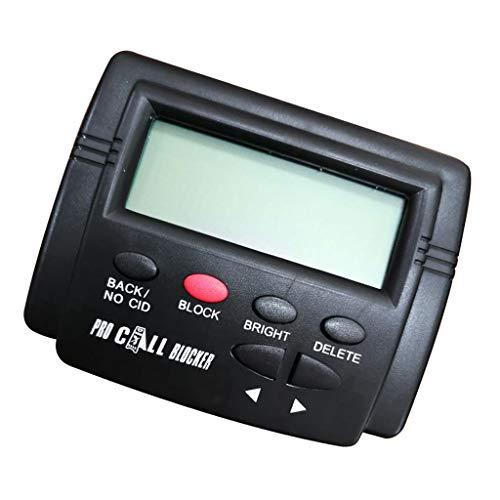 KESOTO Potente Bloqueador De Llamadas, Capacidad De 1500 Números, Detener Todas Las Llamadas Frías para Teléfonos Fijos Teléfonos Fijos Antiguos