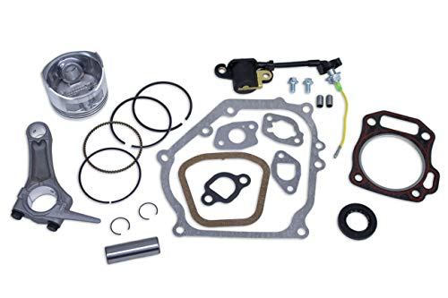 Everest New Piston Kit with Connecting Rod and Full Gasket Set Compatible with Honda GX160