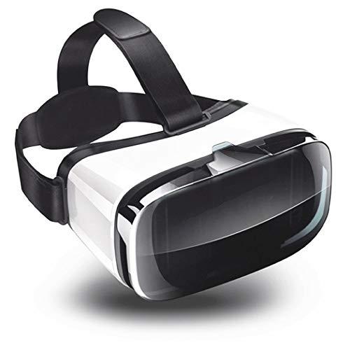 JYMYGS VR Brille, HD 3D Virtual Reality Brille, für 3D Film und Spiele, Geeignet 4,0-6,0 Zoll Smartphone Handy für iPhone SE 6/6s/7/8/X/XS, Samsung Galaxy S6/S7/S8/S9, Huawei p10/p20. N001JL