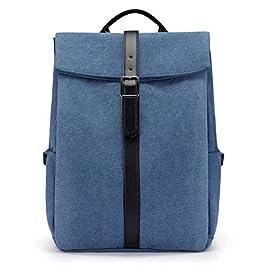 LOVEVOOK Sac à dos pour ordinateur portable – Pour femme – 15,6 pouces – Sac à dos d'écolier – Sac à dos étanche pour l…