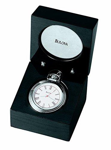 Bulova B2663 ASHTON II Pocket Watch with Tabletop Presentation Box