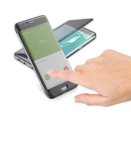 Cellular Line BOOKTOUCHGALS6EPLK Galaxy S6 Edge Plus Black