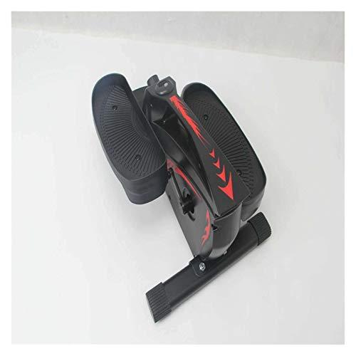 YDL Stepper Hogar Pérdida De Peso Mini Cinta De Correr Elíptica Handrail Pequeño Equipo De Fitness Deportes (Color : Black)