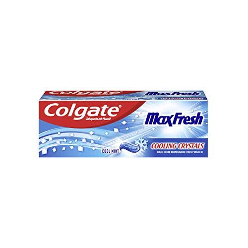 Colgate Zahnpasta MaxFresh Cooling Crystals, Probiergröße und Reisegröße, 20 ml