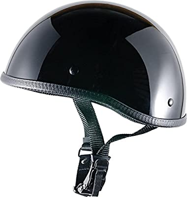 Crazy Al's Worlds Smallest Helmet Soa Inspired In Gloss Black With Out Visor Size Small
