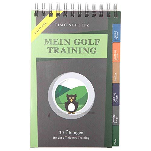 Mein Golf Training: 30 Übungen für ein effektives Training | Booklet mit Drills für das Golf-Bag