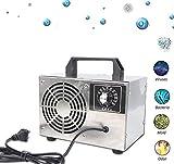 Generador De Ozono Purificador O3 Industrial Purificador De Aire Desodorizador Esterilizador Comercial Máquina De Ozono De Acero Inoxidable Desodorizador De Aire Lonizer Ozono Inicial 20 G / H Para El