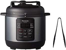"Panasonic 松下 電壓力鍋 短鍋 3L 黑色""滿水容量3L、烹飪容量2L"" (壓力、低溫、無水、燉、自動烹飪) SR-MP300-K"