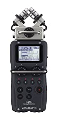 THE ZOOM H5 HANDY RECORDER