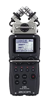 Zoom H5 4-Track Portable Recorder for Audio for Video Music and Podcasting Stereo Microphones 2 XLR/TRS Inputs USB Audio Interface Battery Powered