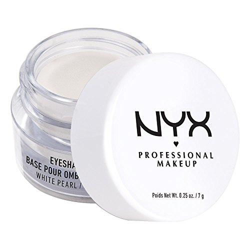 NYX PROFESSIONAL MAKEUP Eyeshadow Base Primer, White Pearl