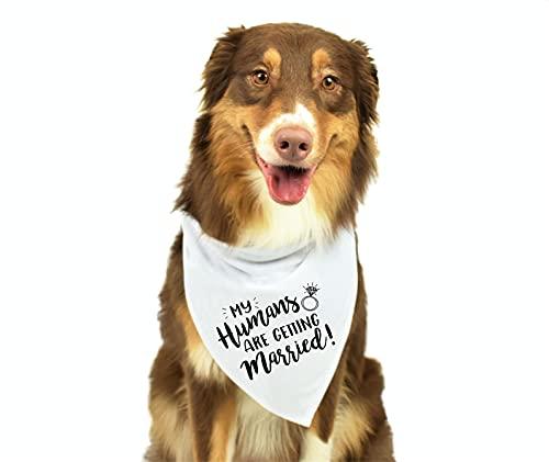 My Humans are Getting Married Dog Bandana, Wedding Dog Bandana, Dog...