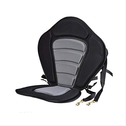 YWEHAPPY Verstellbarer Angeln Kanu-kajak-backrest Seat Mit Kissen Rowing Bootszubehör Marine Wasser-ski-ki-Bungee-hakenkreuz Kanu