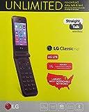 LG Classic Flip 8GB Storage 1GB RAM Black CDMA Straight Talk Flip Phone