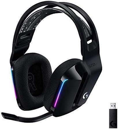 Logitech G733 Lightspeed Wireless Gaming Headset with Suspension Headband LIGHTSYNC RGB Blue product image