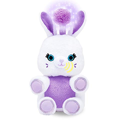 Fuzzible Friends Fluff The Bunny Plush Light Up Toy – Works with Compatible Amazon Echo Devices for Interactive Activities and Sounds – Amazon Exclusive
