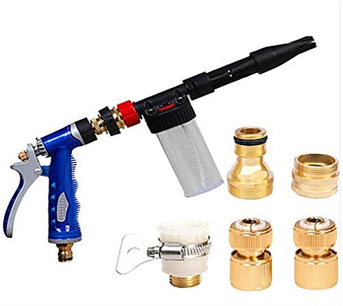 BAOYUANWANG Easy to Operate, Garden Water Jet High Pressure Power Washer Spray Nozzle Watering Gun Hose Pipe Wand Attachment Best Choice Cleaning Tools Simple and Fast