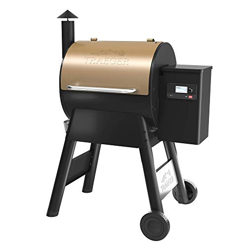 Traeger Grills TFB57GZEO Pro Series 575 Grill, Smoker, Bronze