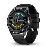 GOKOO Smart Watch for Men Heart Rate Monitor Sleep Tracker Smart Watch Full Touch Screen Activity Tracker Breathing Train IP68 Waterproof Sport Smart Watch Step Calorie Camera Music Control