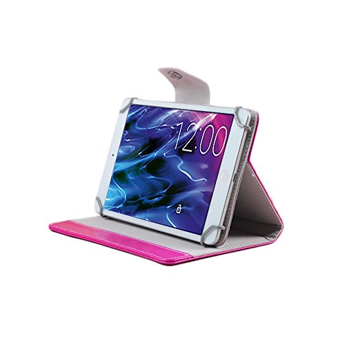 UC-Express Tablet Tasche für Medion Lifetab P8514 P8314 P8312 P8311 S8312 S8311 Hülle Case, Farben:Pink