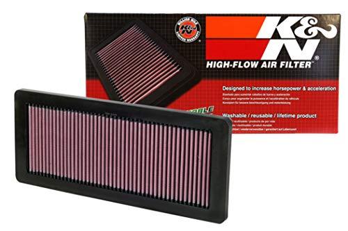 K&N 33-2936 Filtre à Air du Moteur: Haute Performance, Premium, Lavable, Filtre de Remplacement, Plus de Pouvoir, 2007-2019 (DS3, DS4, DS5, DS7, Grandland, Cooper Countryman, C5, C4L)