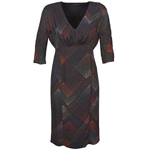 Antik Batik Orion Kleider Femmes Schwarz - DE 36 (EU 38) - Kurze Kleider