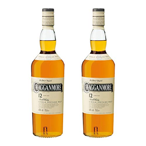Cragganmore 12 Years/Jahre, 2er, Single Malt, Whisky, Scotch, Alkohol, Alokoholgetränk, Flasche, 40%, 700 ml, 701719