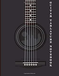 Guitar Tablature Notebook: Design With Guitar Photo   Guitar Tablature Book Beginner For Guitar Composing Guitar Music Notes And Perfect Gifts For Guitar Lovers