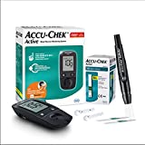 Accu-Chek Active Blood Glucose Glucometer Kit With...
