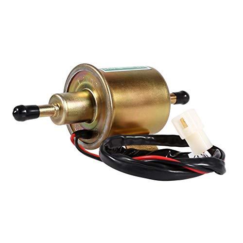 Pompa elettronica pompa benzina esterna Bomba de combustible - Bomba de combustible eléctrica de gasolina diesel de gasolina de baja presión universal Vobor 12V para automóviles