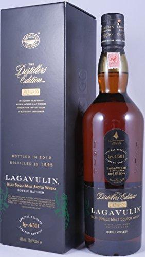 Lagavulin 1995 18 Years The Distillers Edition 2013 Double matured in Pedro Ximenez Sherry Wood lgv. 4/501 Islay Single Malt Scotch Whisky 43,0% Vol. - 2. Release aus dem Jahr 2013