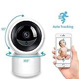 Baby Monitor with Camera 2 Way Audio Talk Night Vision Surveillance Security Camera