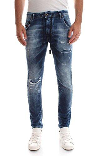 (ディーゼル) DIESEL メンズ デニムパンツ ジョグジーンズ レギュラー スリム キャロット 00SU3F0685I 30inch インディゴブルー 01