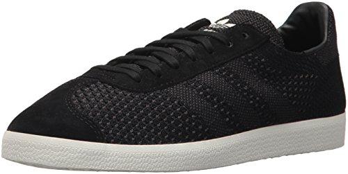 adidas Originals Men's Gazelle PK, Black/Black/White, 8 Medium US