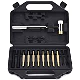 BUSSTAN Gunsmithing Tools Gunsmith Hammer and Brass Punch Gun Smithing Tool Set Kit